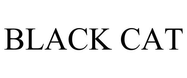Trademark Logo BLACK CAT