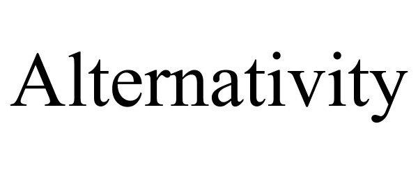 Trademark Logo ALTERNATIVITY