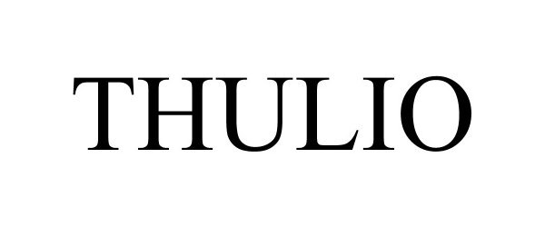 Trademark Logo THULIO