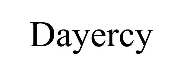 Trademark Logo DAYERCY