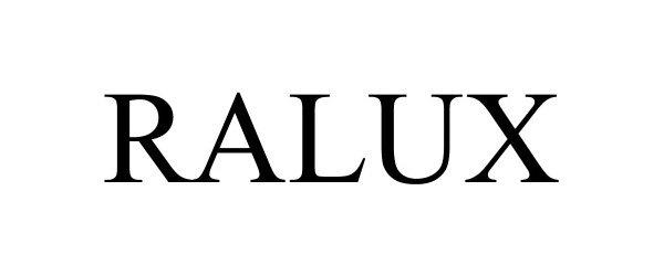 Trademark Logo RALUX