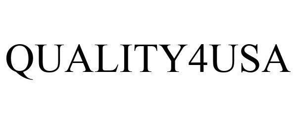 Trademark Logo QUALITY4USA
