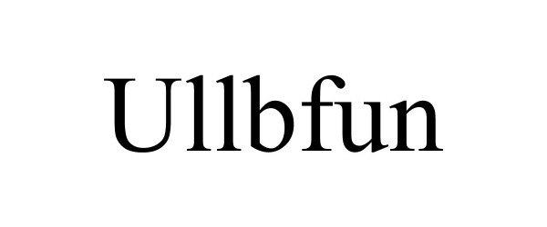 Trademark Logo ULLBFUN