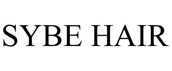 Trademark Logo SYBE HAIR