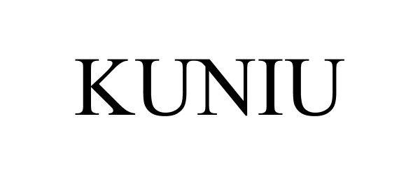 Trademark Logo KUNIU