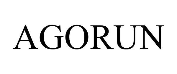 Trademark Logo AGORUN