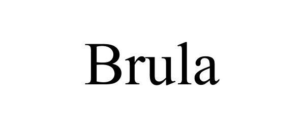 Trademark Logo BRULA