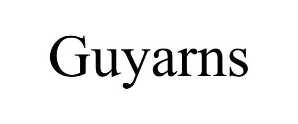 GUYARNS