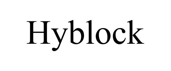 Trademark Logo HYBLOCK