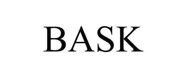 Trademark Logo BASK