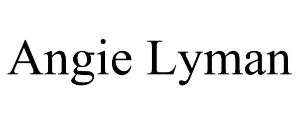Trademark Logo ANGIE LYMAN