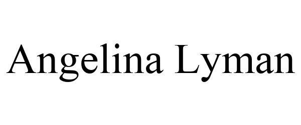 Trademark Logo ANGELINA LYMAN