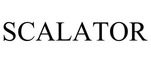 Trademark Logo SCALATOR