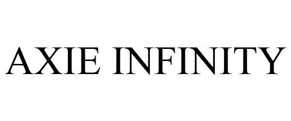 Trademark Logo AXIE INFINITY