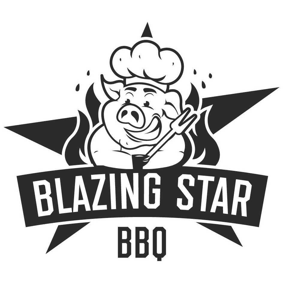Trademark Logo BLAZING STAR BBQ