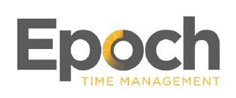 Trademark Logo EPOCH TIME MANAGEMENT
