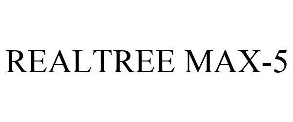 Trademark Logo REALTREE MAX-5