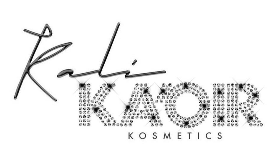 Trademark Logo KALI KA'OIR KOSMETICS