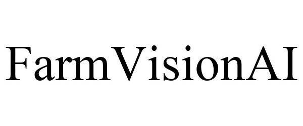 Trademark Logo FARMVISIONAI