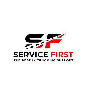 Trademark Logo S F SERVICE FIRST THE BEST IN TRUCKING SUPPORT