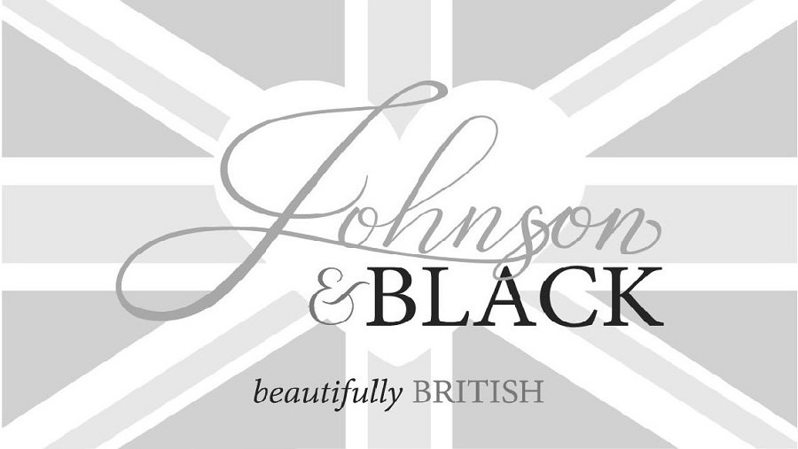 Trademark Logo JOHNSON & BLACK BEAUTIFULLY BRITISH