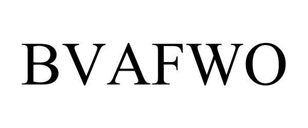 Trademark Logo BVAFWO