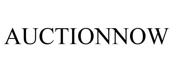 Trademark Logo AUCTIONNOW