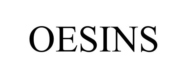 Trademark Logo OESINS