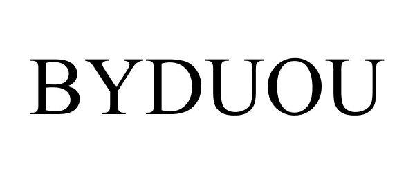 Trademark Logo BYDUOU