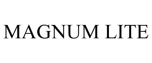 Trademark Logo MAGNUM LITE