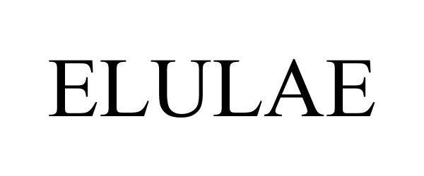 Trademark Logo ELULAE