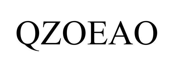 Trademark Logo QZOEAO