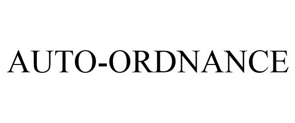Trademark Logo AUTO-ORDNANCE