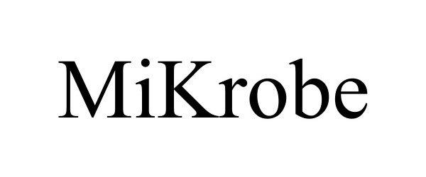 Trademark Logo MIKROBE