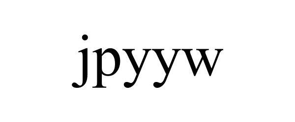 Trademark Logo JPYYW