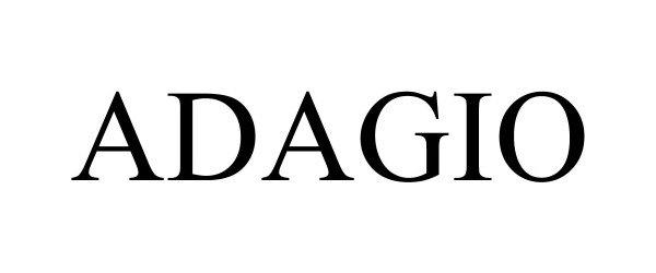 Trademark Logo ADAGIO