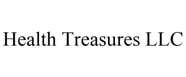 Trademark Logo HEALTH TREASURES LLC