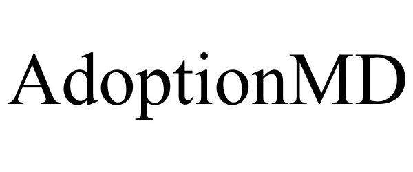 Trademark Logo ADOPTIONMD