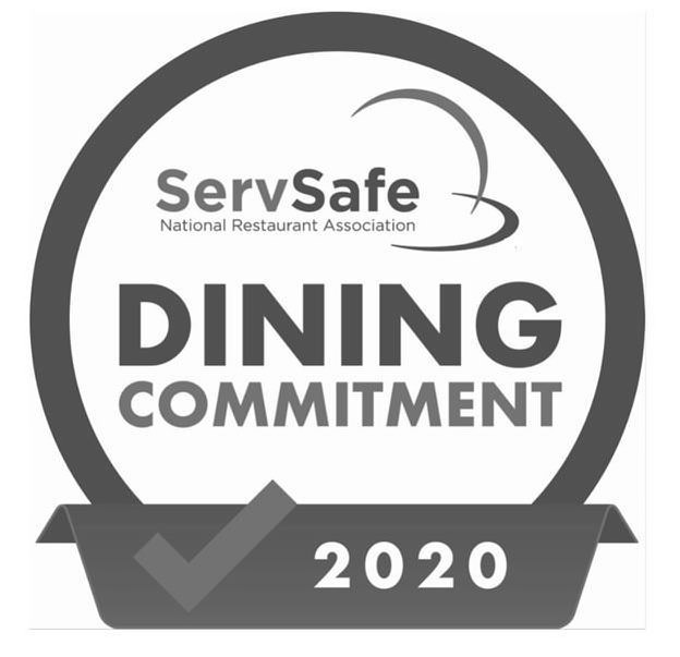 Trademark Logo SERVSAFE DINING COMMITMENT NATIONAL RESTAURANT ASSOCIATION 2020