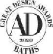 Trademark Logo AD GREAT DESIGN AWARDS BATHS
