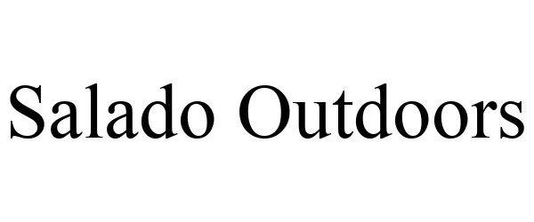 Trademark Logo SALADO OUTDOORS