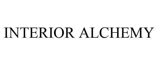 Trademark Logo INTERIOR ALCHEMY