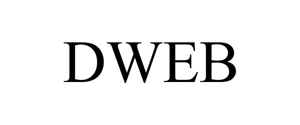 Trademark Logo DWEB