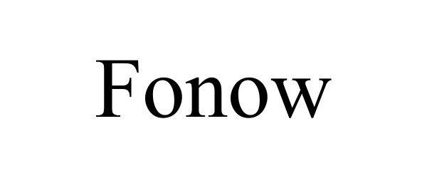 FONOW