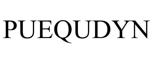 Trademark Logo PUEQUDYN