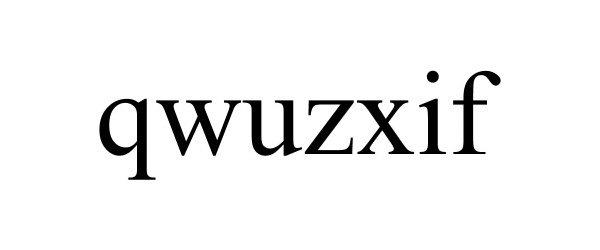 Trademark Logo QWUZXIF