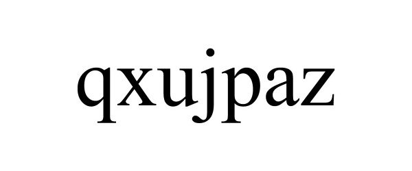 Trademark Logo QXUJPAZ