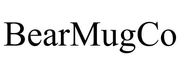 Trademark Logo BEARMUGCO