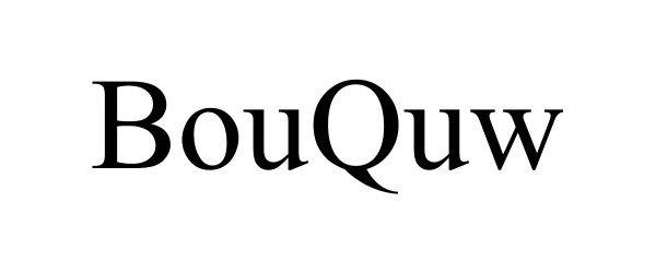 Trademark Logo BOUQUW