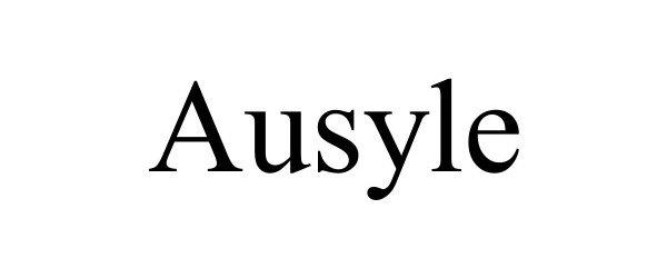 Trademark Logo AUSYLE